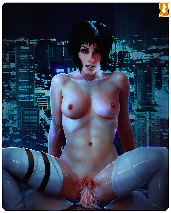 shell ghost in nudes the Attack on titan gay porn