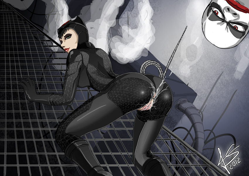 in get batman catwoman arkham to how city Devil may cry 5 nico nude