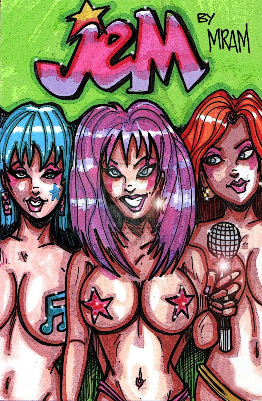 and jem the danse holograms The amazing world of gumball carmen