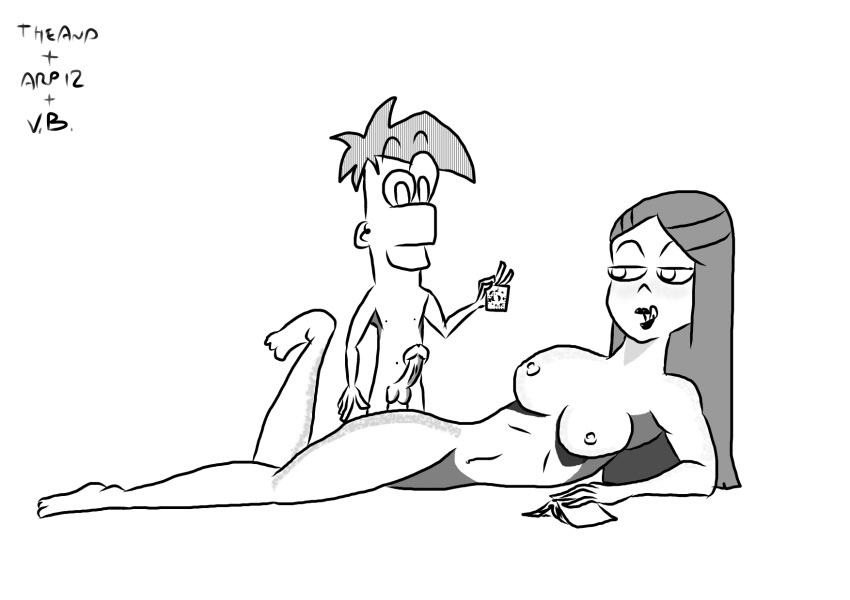 ferb and vanessa naked phineas Mass effect 2