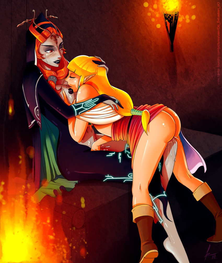 flame and princess bubblegum princess Trials in tainted space amara fight