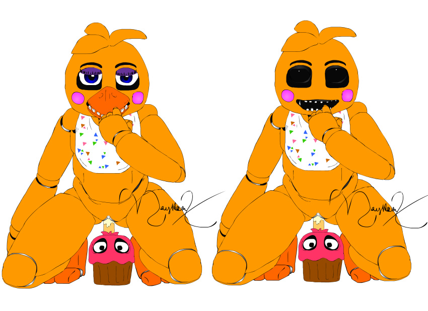 at nights freddy's 1 five chica Old bonnie and toy bonnie